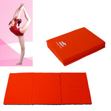 Folding Exercise Yoga Mat Fitness Gym Workout Aerobics Cushion Gymnastics NEW!
