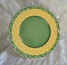 "Villeroy & Boch Switch Summerhouse Acacia Germany 8.5"" Salad Bread Plate"