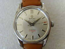 Vintage Swiss TITONI 17J Manual Watch