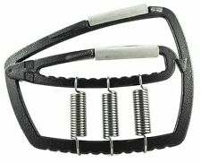 UK Warrior Metal Hand Gripper Adjustable With 3 Springs Tension From 1 To 350 Kg