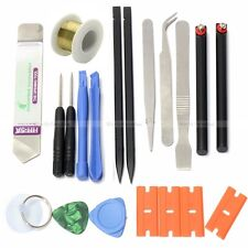 Repair tools screwdriver spudger tweezers opening réparation smartphone & iPhone