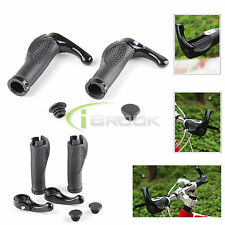 Ergonomic Mountain Bicycle Bike Cycling Lock-On Handlebar Hand Bar End Grips New