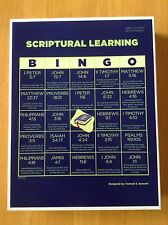 Bible Bingo Game includes 50 Scriptures (also view Attributes of God Bingo)