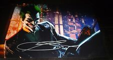 "TROY BAKER Authentic Hand-Signed JOKER ""Batman:Arkham Orgins"" 11x17 photo(PROOF)"