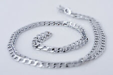 18K White Gold Filled Necklace Chain Women's Jewelry Christmas Gift