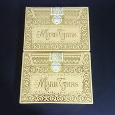 Mardi Gras Limited Rare Custom Playing Cards Numbered Gold Seal New Orleans RRRR