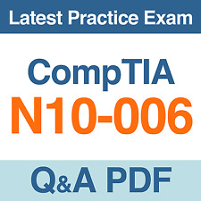 CompTIA Network+ certification Practice Test N10-006 Exam Q&A PDF
