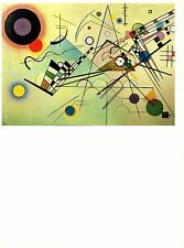 "1979 Vintage KANDINSKY ""COMPOSITION VIII"" FABULOUS COLOR offset Lithograph"
