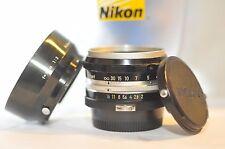 Nikon F Nikkor S 5cm f/2 50mm NON-AI PRIME standard FIXED lens Nippon Kogaku