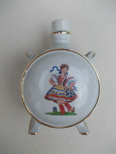 § Vintage porcelain jug made in Hungary - hand painted - folk clothing