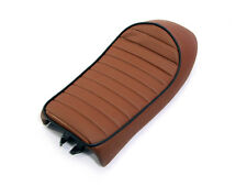 Vinyl Motorbike Brown Seat for BMW Boxer Cafe Racer Scrambler Retro Project Bike