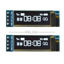"""IIC I2C 0.91""""128x32 white OLED LCD Display Module 3.3v 5v AVR PIC Arduino uno r3"""