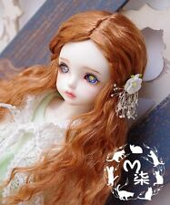 1 4 7-8 Dal BJD SD MSD Wig MDD DOD LUTS DOC Dollfie Doll Curly wigs Kid Toy