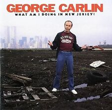 GEORGE CARLIN ~ WHAT AM I DOING IN NEW JERSEY ~ CD 1988 EARDRUM/ATLANTIC