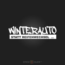 Winter Auto aufkleber sticker snow oem dub vag drift schnee winterbitch ESP  fun