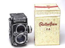 Rollei Rolleiflex 2.8 E 2,8 E + Schneider Xenotar 80mm F2.8 + Box