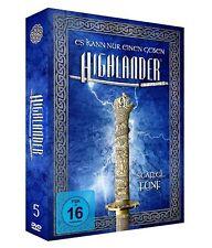The Complete Highlander Series Season 5 Region 2 [UK] [6 DVD] Adrian Paul New