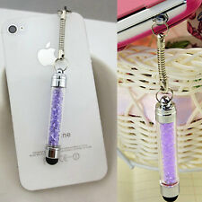1pc Mini Crystal Diamond Bling Touch Screen Stylus Pen For iPhone I5