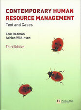 Contemporary Human Resource Managemt: Text & Cases, T Redman & A Wilkinson 2009