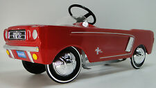 1965 Mustang Ford Pedal Car A Vintage Hot T Rod  Midget Metal Show GT Model Art