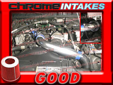 """BLUE RED 1994-97 CHEVY S10/XTREME/HOMBRE/SONOMA 2.2L FULL COLD AIR INTAKE KIT 3"""""""