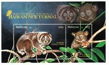 Malaysia 2008 Nocturnal Animals ~ MS mint
