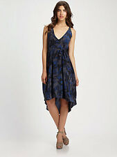 NWT $500 Marc by Marc Jacobs Gaia Print Crepe-de-Chine Silk Dress XS/S BEAUTIFUL