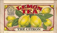 Lemon Tea - 25 Bags - Decorative Wooden Box