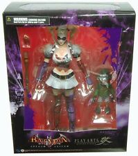 Play Arts HARLEY QUINN Arkham Asylum figure~Kai~Dark Knight~Batman~Square Enix~N