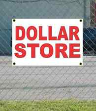 2x3 DOLLAR STORE Red & White Banner Sign NEW Discount Size & Price FREE SHIP