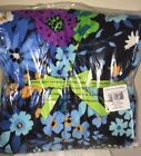 NEW VERA BRADLEY Throw Blanket Fleece MIDNIGHT BLUES NWT BEAUTIFUL!!!