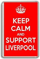 KEEP CALM AND SUPPORT LIVERPOOL, LIVERPOOL FOOTBALL TEAM Fridge Magnet
