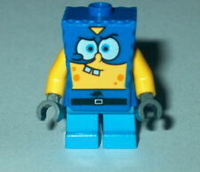 "SPONGEBOB #20A Lego Spongebob ""SUPER HERO"" (custom As Shown Read) NEW 3815"