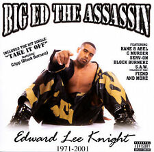 CD BIG ED the ASSASSIN EDWARD LEE KNIGHT RARE/MINT!! caught in the crossfire