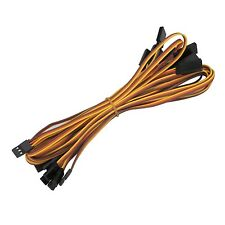 10pcs 500mm Servo Extension Cord Cable 50cm Lead Wire JR Futaba Connector 26AWG