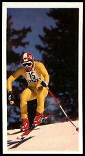 Olympic Challenge 1992 #6 Franz Klammer Brooke Bond Tea Card (C277)