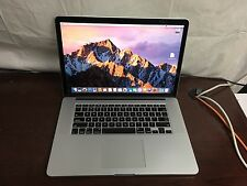 """MacBook Pro 15"""" Retina (Late 2013) 2.0GHz i7 8gb 256GB PCIe MacOS Sierra"""