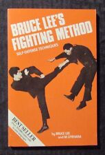 1993 BRUCE LEE'S Fighting Method Self-Defense Techniques FN+ 6.5 Ohara Paperback