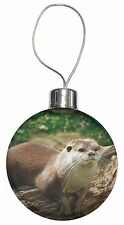 River Otter Christmas Tree Bauble Decoration Gift, AO-2CB