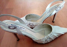 Benjamin Adams Ivory Satin Bridal/Wedding Shoes Size UK 7