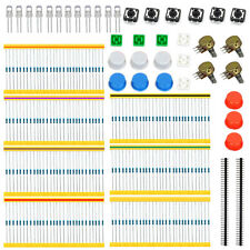 Universal Parts kit for Arduino Starter Resistors LEDs Potentiometers Button Cap