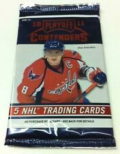 2010-11 Playoff Contenders Hockey Factory Sealed HOBBY 5-Card Pack Auto?