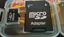 Xien 64gb Micro sd card and adapter