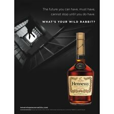 HENNESSEY WILD RABBIT POSTER   NEW  18 BY 27