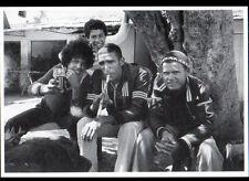 TANGER (MAROC) JEUNES MAROCAINS au SOCCO en 1979