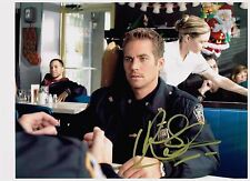 Paul Walker 8.5 x 11 Authentic Hand Signed Autographed Photo W/COA  RIP
