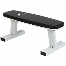 HARDCASTLE 270KG FLAT WEIGHT LIFTING HOME WORKOUT GYM BENCH DUMBBELL CHEST PRESS
