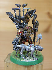 Awesome conversione mechanicus Lord SACERDOTE CON Cyber DOG ben dipinti (873)