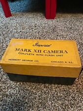 Imperial Mark XII Camera complete with flash unit