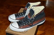 Men's CONVERSE ALL STAR HI Burnt Umber/Charcoal/Oxheart 147994F Size 12